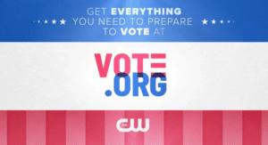 Vote dot Org Photo Message
